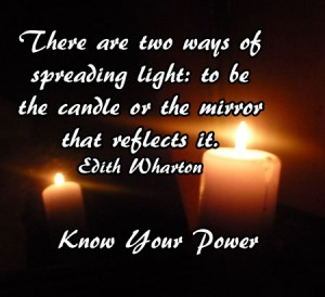 Ways to spread light