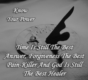 Time is still the best answer