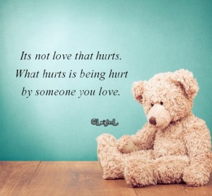 Its not love that hurts