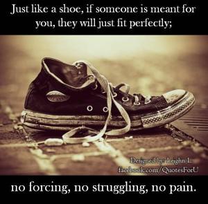 Just like a shoe