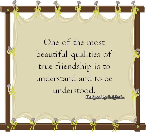 qualities of friends essay
