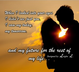 You are my future for the rest of my life, Leighn Lamanilao's images