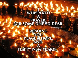 Wishing you peace hope and happy new year