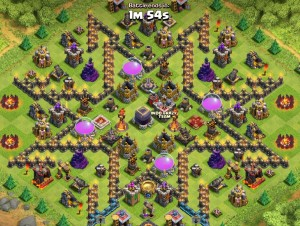 Clash of clans th 10 star base
