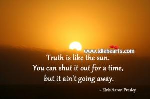 Truth is like sun