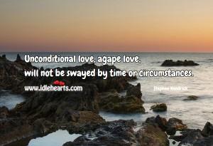 Unconditional agape love