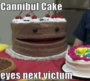 Cake eyes next victim