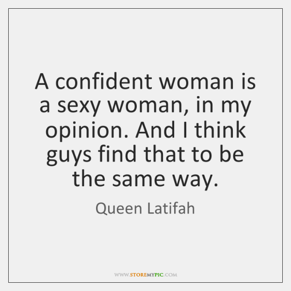 a confident woman quote