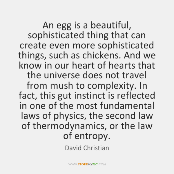 An egg is a beautiful, sophisticated thing that can create even more ...