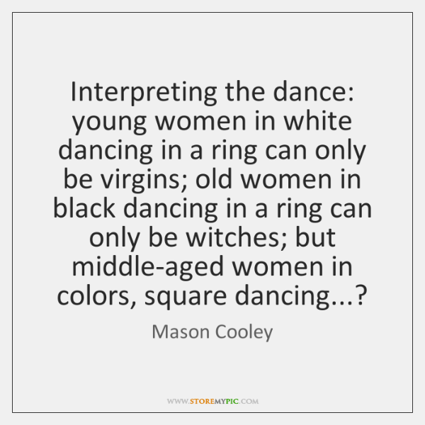 Interpreting the dance: young women in white dancing in a ring can ...
