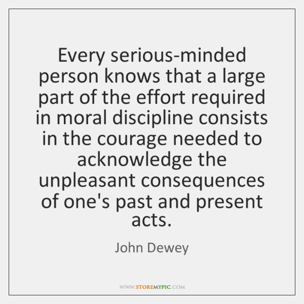 Every serious-minded person knows that a large part of the effort required ...