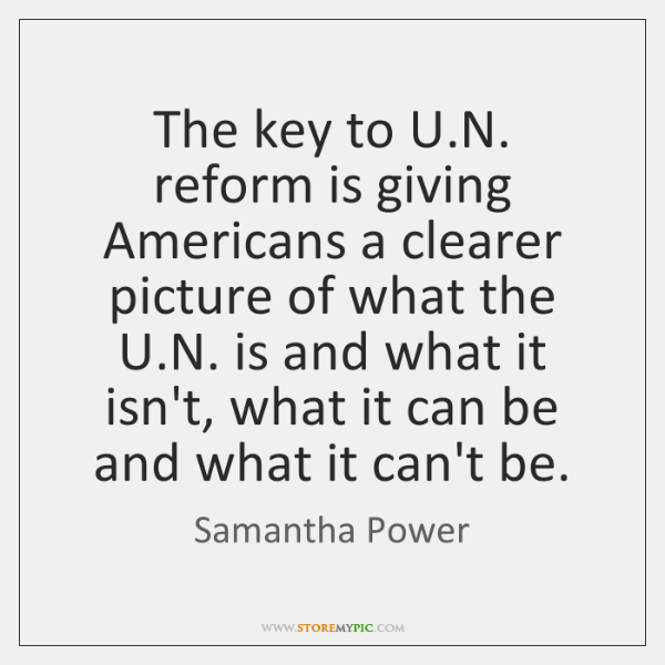 The key to U.N. reform is giving Americans a clearer picture ...