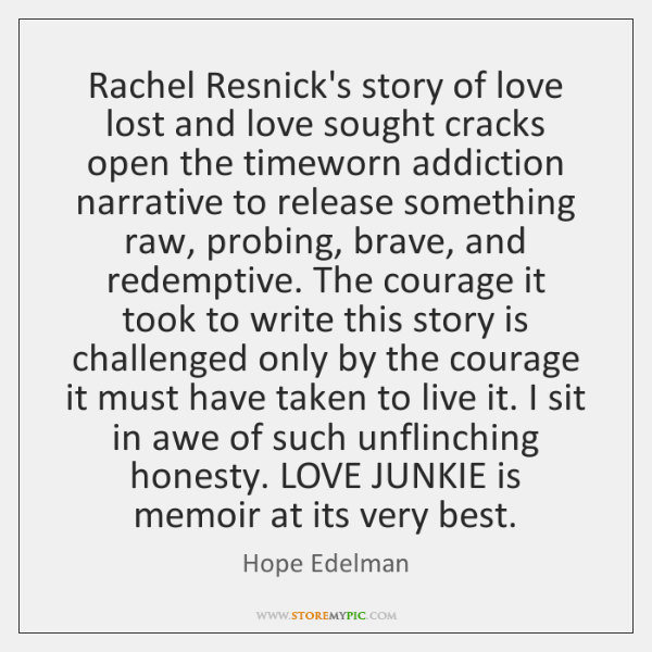 Rachel Resnick's story of love lost and love sought cracks open the ...