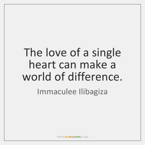 The love of a single heart can make a world of difference.