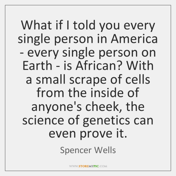 What if I told you every single person in America - every ...