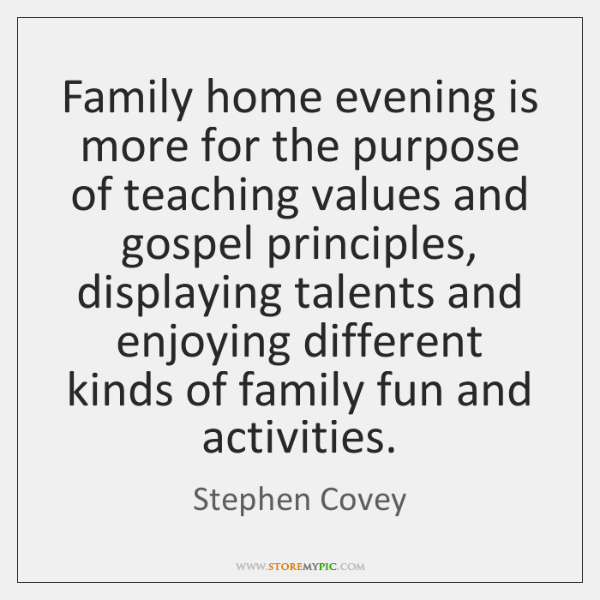 family home evening activities for couples the best family of 2018