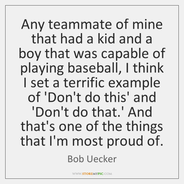 Bob Uecker Quotes Storemypic