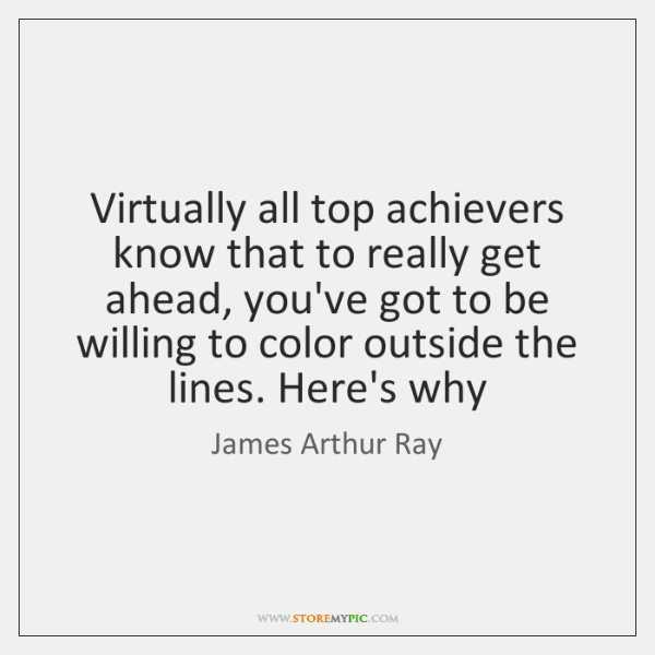 Virtually all top achievers know that to really get ahead, you've got ...