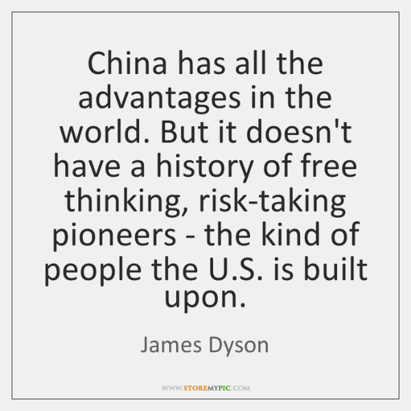 China has all the advantages in the world. But it doesn't have ...