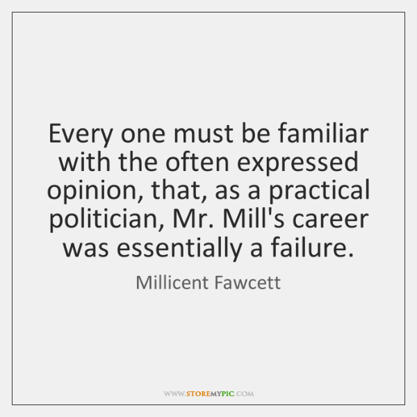 Every one must be familiar with the often expressed opinion, that, as ...