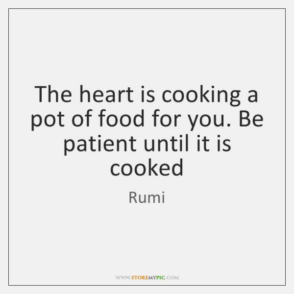 The Heart Is Cooking A Pot Of Food For You Be Patient Storemypic