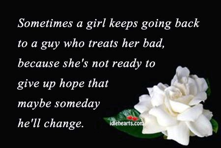 A girl keeps going