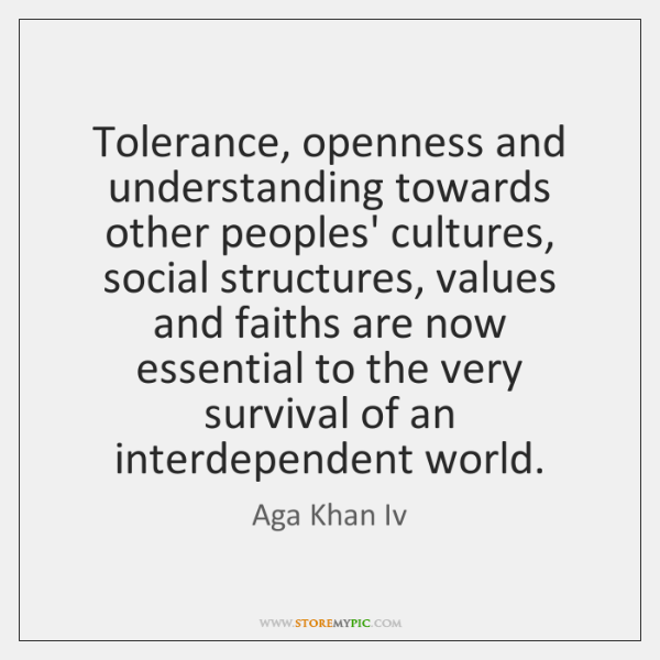 tolerance towards others essay Free essay: tolerance, as defined in the dictionary, is a fair and permissive attitude toward those who race, religion, nationality, etcetera, differs from.