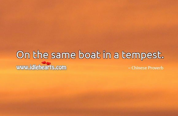 Boat tempest