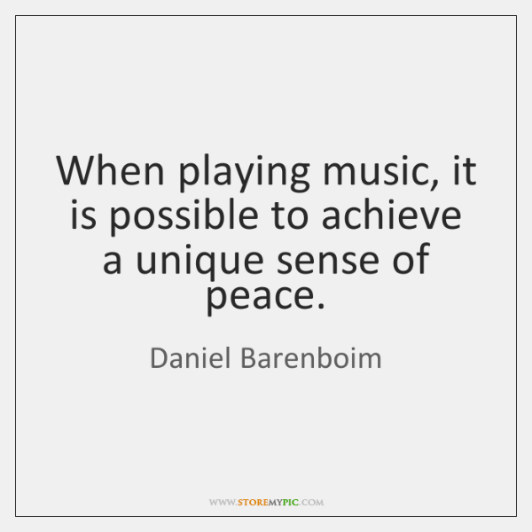 When playing music, it is possible to achieve a unique sense of ...