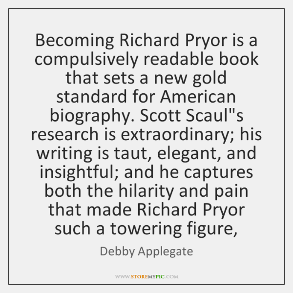 Becoming Richard Pryor is a compulsively readable book that sets a new ...