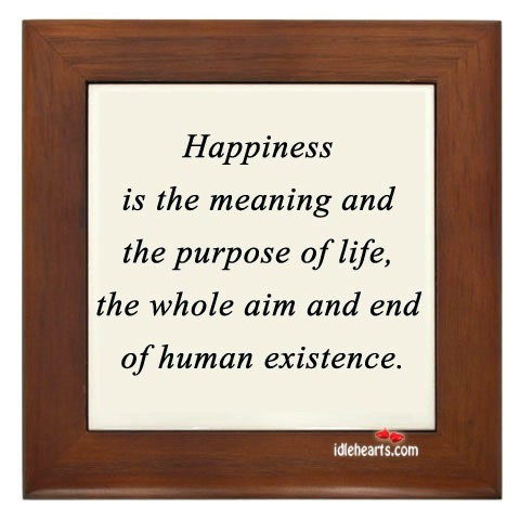 essay on the purpose of life is to be happy An essay has been defined in a variety of ways one definition is a prose composition with a focused subject of discussion or a long, systematic discourse.