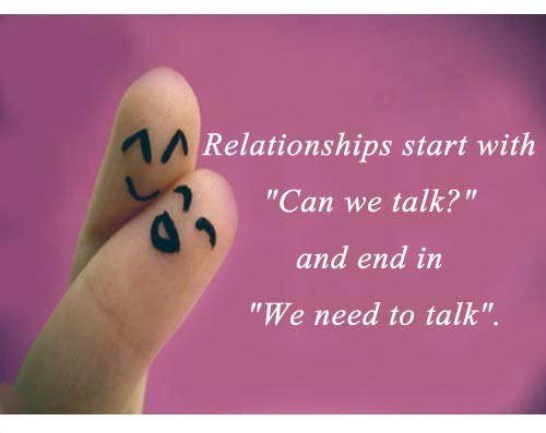 Relationships starts with