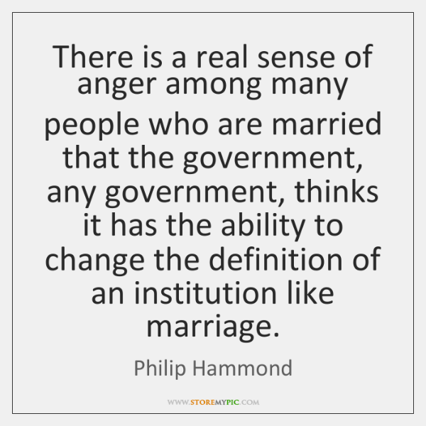 There is a real sense of anger among many people who are ...