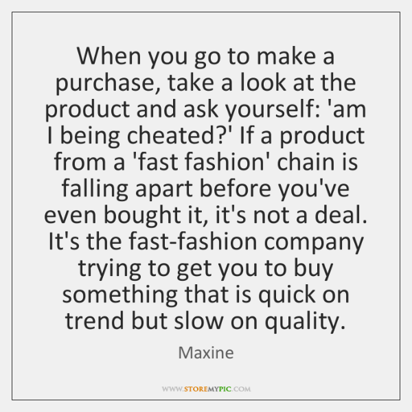 When you go to make a purchase, take a look at the ...