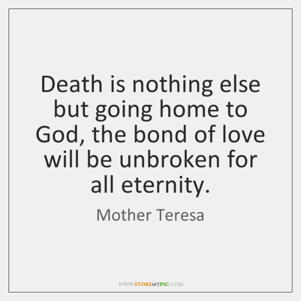 Mother teresa death quotes