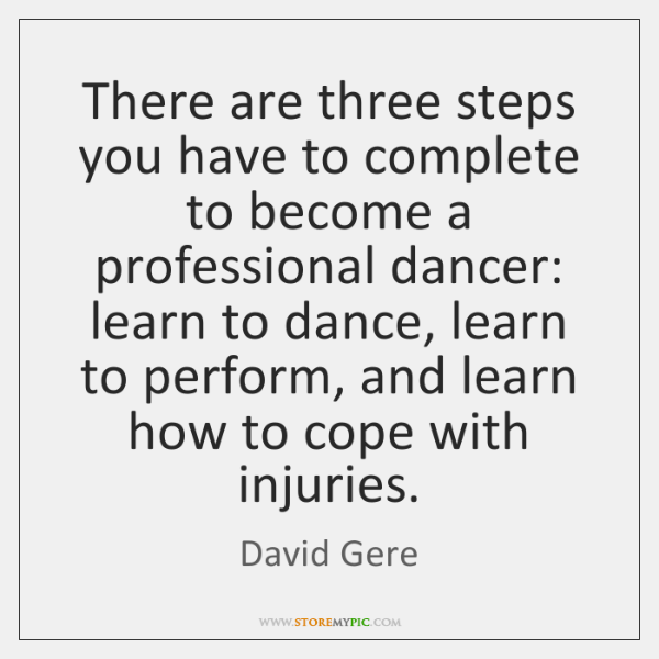 There are three steps you have to complete to become a professional ...