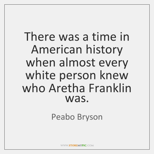 There was a time in American history when almost every white person ...