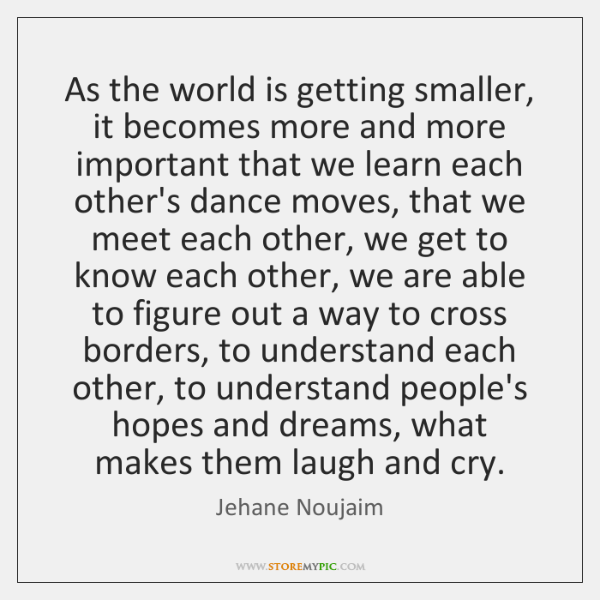 As the world is getting smaller, it becomes more and more important ...