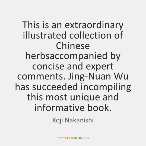 This is an extraordinary illustrated collection of Chinese herbsaccompanied by concise and ...