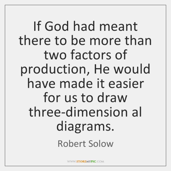 If God had meant there to be more than two factors of ...