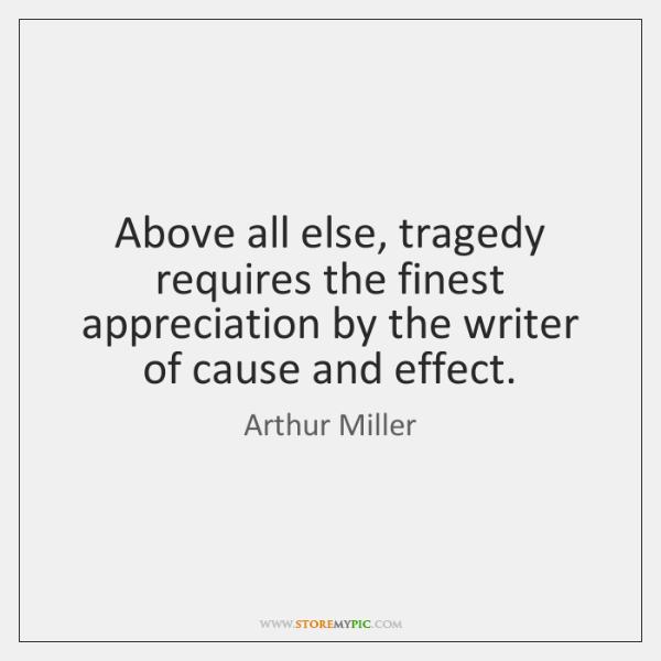 arthur miller tragedy