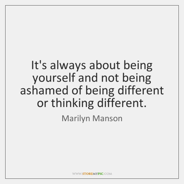 Marilyn Manson Quotes Storemypic