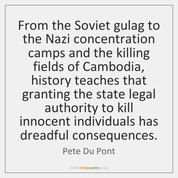 From the Soviet gulag to the Nazi concentration camps and the killing ...