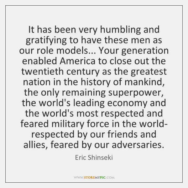It has been very humbling and gratifying to have these men as ...