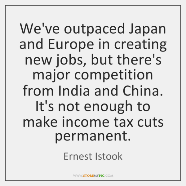 We've outpaced Japan and Europe in creating new jobs, but there's major ...