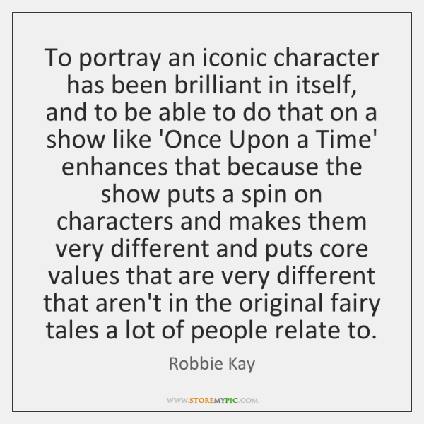 To portray an iconic character has been brilliant in itself, and to ...