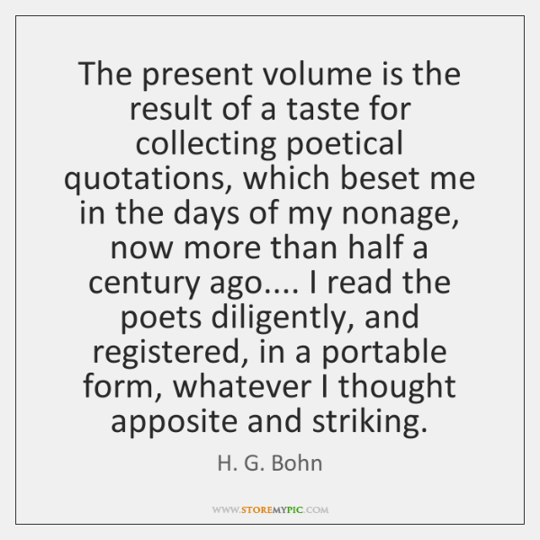 The present volume is the result of a taste for collecting poetical ...