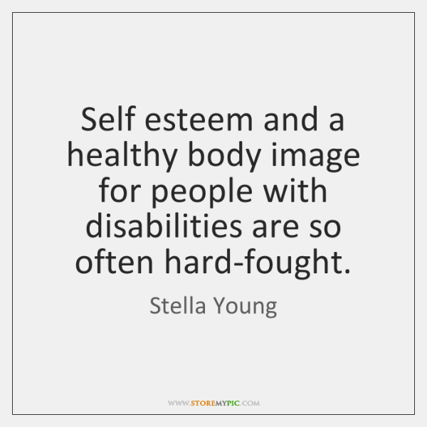 self esteem and imagery perspectives