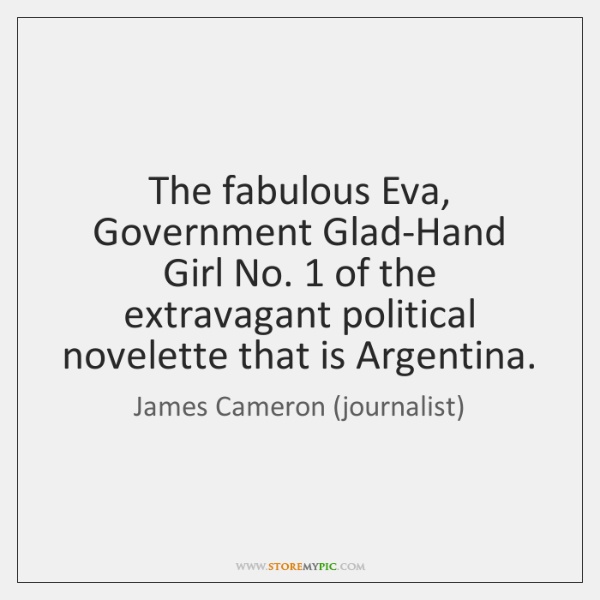 The fabulous Eva, Government Glad-Hand Girl No. 1 of the extravagant political novelette ...