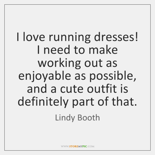 I love running dresses! I need to make working out as enjoyable ...